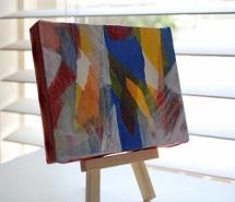 tiny painting by Jean Vengua