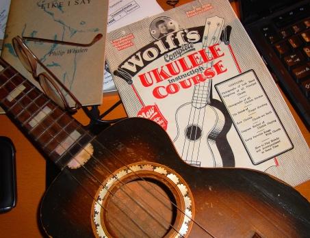 old ukulele