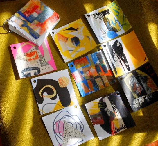 collage,sketchbooks,Myndology