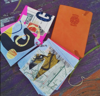 Tiny sketchbooks.