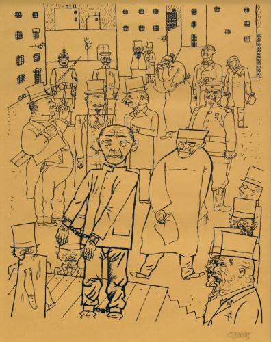 George Grosz_Nobody Cares About Them